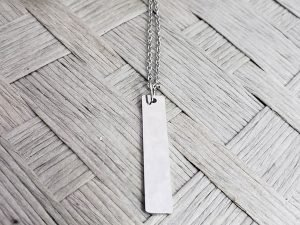 Blank Long Bar Pendant