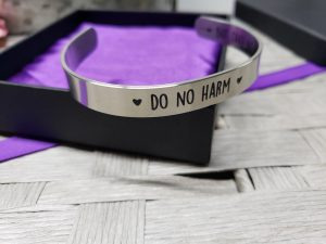 do no harm cuff bracelet