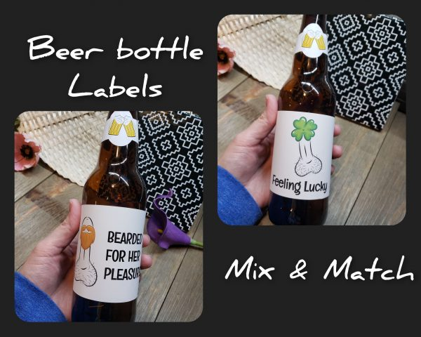 beer labels mix and match